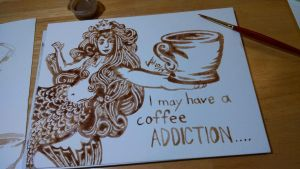 I May Have A Coffee Addiction by Wildartist83