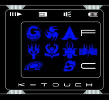 Kamen Rider DiEnd's K-touch by toailuong