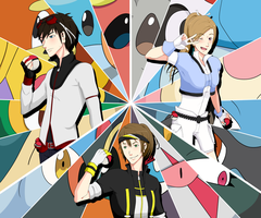Pokemon - Team up by ShadowCutie1