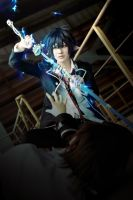 Ao No Exorcist rin by 0hagaren0