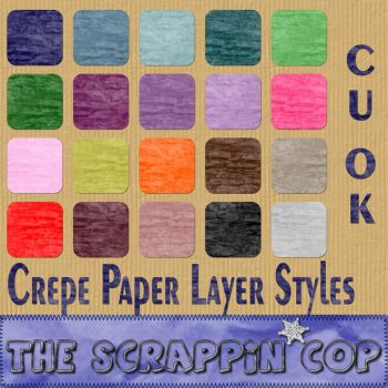 Crepe Paper Layer Styles by debh945