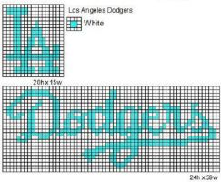 Los Angeles Dodgers by cdbvulpix