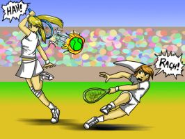Tennis COLOURED by BlackMage339
