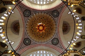 Dome of Suleymaniye Mosque by TanBekdemir