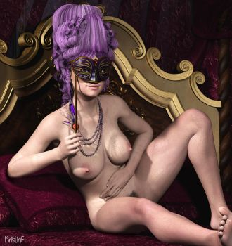 Queen of the Masquerade by KristinF