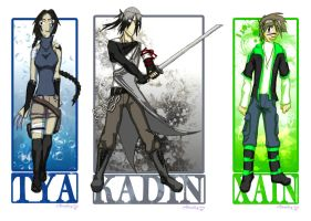 V.S- Main Character Outfits by Syra-728