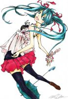 .: Miku Hatsune - MELT :. by The-Crowned