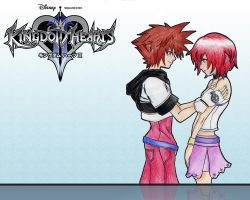Kingdom Hearts wallpaper 2 by Andrex91