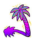 Neon Palm by rei-0