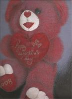 valentine's day massacre bear by PrayForThisSuicide