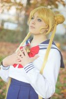 Thinking about love. Usagi cosplay. by Giuzzys
