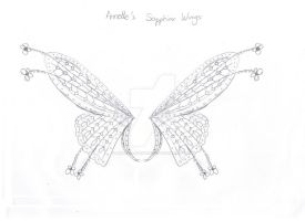 Annette Sapphirix Wings Sketch by Natalia-Enchantix