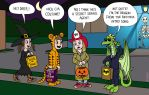 Daryl Jones goes trick-or-treating by KTurtle