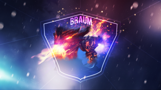 D. Slayer Braum v2 ~ League of legends - Wallpaper by Aynoe