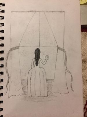 Cover Concept Art - And She Was Made of Glass by Pen-and-Parchment