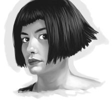 Audrey Tautou by EmperorAtma
