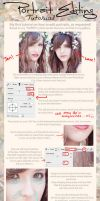 .:Portrait Editing TUTORIAL:. by C4M30