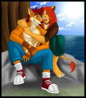 C- Crash X Lioness by Ashy666