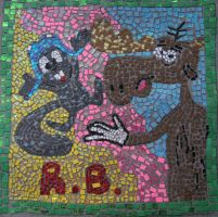 Rocky and Bullwinkle by Artsy-Munster