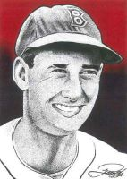 Ted Williams by JRosales1