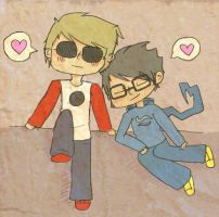 Dave, John: Be extremely cute by uglyduckbella