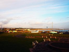 Porthcawl Town Harbour View February 2012 by welshrocker
