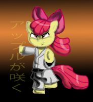 applebloom Karate by PixelDisc