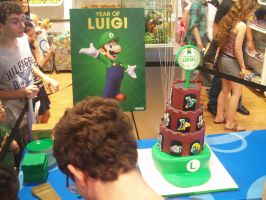 Luigi 30th at Nintendo World 15 by MarioSimpson1