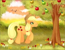 MLP Apple Jack by madam-marla