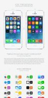 Apple iOS 7 Redesign by wellgraphic