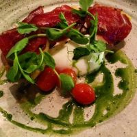 Burrata Cheese Salad with Bresaola by nosugarjustanger