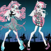 Haunted Student Spirits Rochelle Goyle Dress Up by heglys