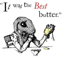 March Hare 'butter' by Wonderland-Chess