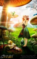 Alice in Wonderland by Gilgamesh-Art-IQ