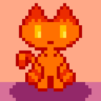Flame Cat by 1Andean