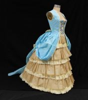 Rococo Victorian Dress - 3/4 View by maddegidio