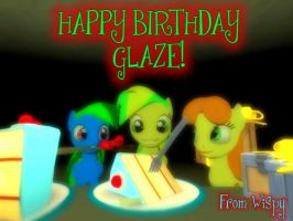 Birthday gift for Glaze by Kev-Darkhood