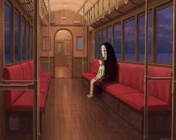 Spirited Away train Animated by Miguel192