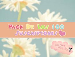 Pack De Los 100 Subs By TiniTutoriales by LOVEFioreEditions