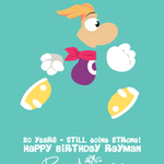 Rayman 20th Anniversary Run by raygirl