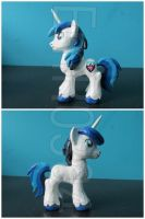 FOR SALE: Young Shining armor Custom G4 Pony by EmR0304