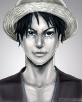 Luffy by Gintara