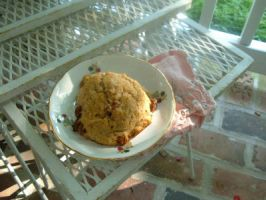 ginger-chocolate chunk scone by Pentecost