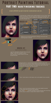 Portrait Painting Tutorial (part 2) by Chickenese