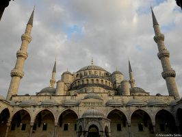 Blue Mosque by RavenNightWish