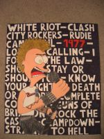 Drawing Tribute the Clash by Sch-a-nelle