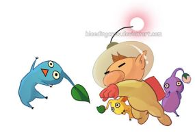 Smash Brothers Brawl Olimar by macawnivore
