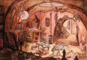L'atelier de Geppetto by Fendouille
