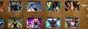 Marvel Comics Folder Pack 8 by 3o1415
