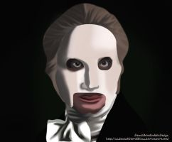 Day 3: Phantom of the opera by xXDeadWhiteRabbitXx